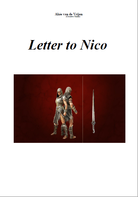 Cover Letter to Nico